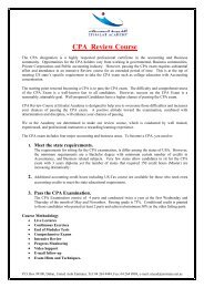 """Registration Form """"CPA REVIEW COURSE"""" - Etisalat Academy"""