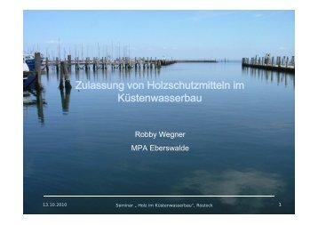 CX - Küstenwasserbau