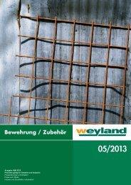 Bewehrungskatalog 05/2013