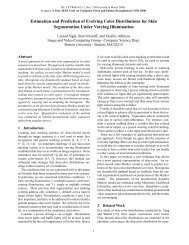 Estimation and Prediction of Evolving Color Distributions for Skin ...
