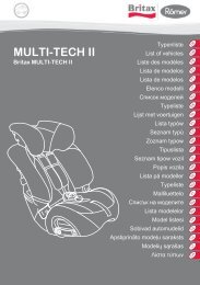 MULTI-TECH II - Britax