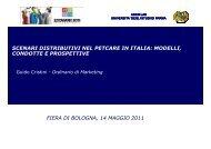 Scenari distributivi nel petcare in Italia - Zoomark