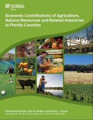 Economic contributions of agriculture, natural resources - Food and ...