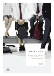 School Matters - Department of Education and Skills