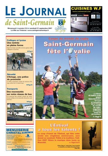 Saint-Germain fête l'Ovalie - Saint Germain-en-Laye