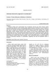 Vertebrate interleukins originated in invertebrates?