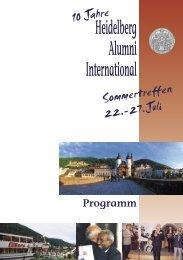 Das Programm des Sommertreffens 2006 zum Download