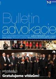 Bulletin advokacie - Nejvyšší správní soud