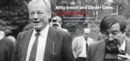 Willy Brandt und Günter Grass: Der Briefwechsel