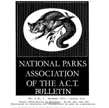 Vol 8 No 3 Dec 1970- Jan 1971 - National Parks Association of the ...
