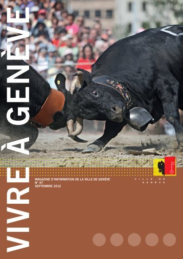 Magazine Vivre à Genève no 47 - Ville de Genève