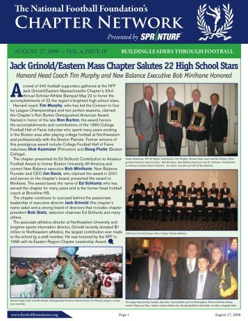 Volume 4, Issue 19 - National Football Foundation