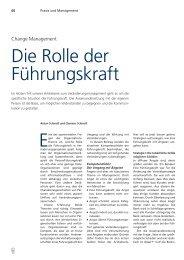 Schmoll Clemens - Change Management III - Bank ... - die Basis