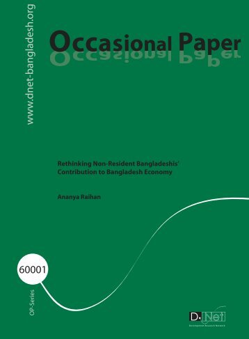 Occasional 60001.pdf - Bangladesh Online Research Network