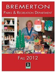Fall 2012 Activity Guide (Single Pages).indd - City of Bremerton