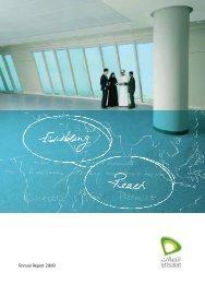Annual Report 2008 - Etisalat