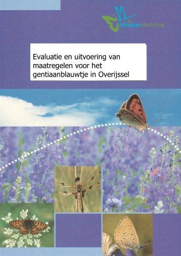 Evaluatie en uitvoering van maatregelen voor het ... - Vlindernet