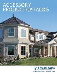Download the Metal Sales Accessories Catalog - Us.com