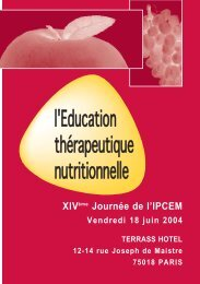 Le programme (pdf - 0.52 Mo) - Ipcem