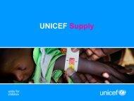 UNICEF Supply