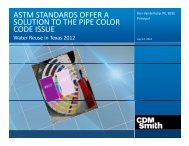 astm standards offer a solution to the pipe color - Water Environment ...