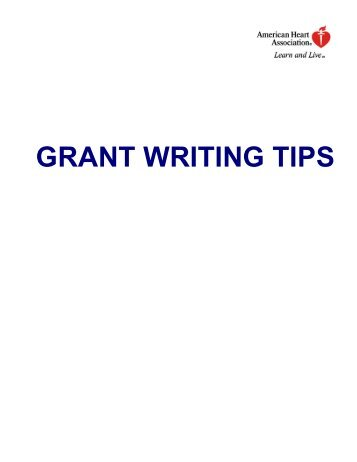 tips on grant writing Many people have received free money - grants for themselves, their new company, or by being a first time home owner grants can be easy to obtain if the homework is.