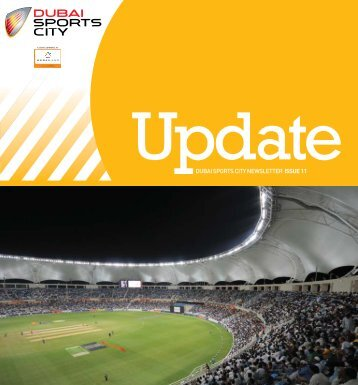 DUBAI SPORTS CITY NEWSLETTER ISSUE 11