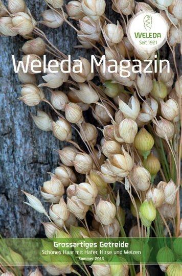 Weleda Magazin Frühling 2013 PDF-Download
