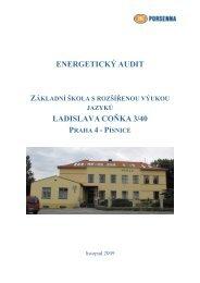 energetický audit ZŠ L. Coňka - Libuš