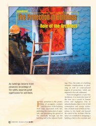 Fire Protection-Pratima Dhoke.qxd - Council of Architecture