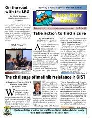 December 2008 newsletter - The Life Raft Group