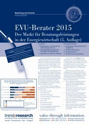 EVU-Berater 2015 - trend:research
