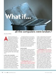all the computers were broken? - National Association of Elementary ...
