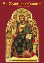 TC genn06.indd - Fraternità Sacerdotale di San Pio X