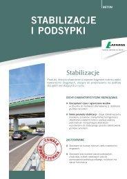 Karta Stabilizacje i podsypki - Lafarge