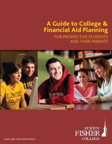 A Guide to College & Financial Aid Planning - CollegeView