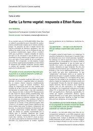 Carta: La forma vegetal: respuesta a Ethan Russo - ResearchGate