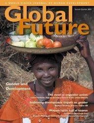 Gender and development - World Vision Institut