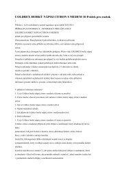 COLDREX HORKÝ NÁPOJ CITRON S MEDEM 10 Prášek pro roztok
