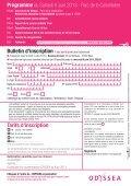 Détail du programme ICI - Odyssea - Page 2
