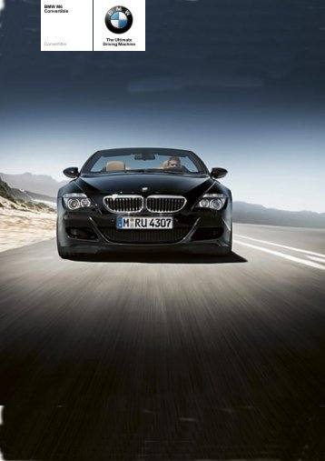 The BMW M6 Convertible - Vines
