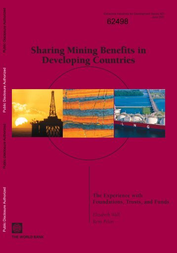 Sharing Mining Benefits in Developing Countries - World Bank