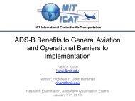 presentation - ADS-B for General Aviation