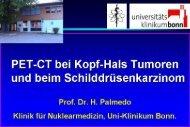 PET-CT bei Kopf-Hals Tumoren - RWGN