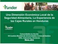 FUNDER - Honduras
