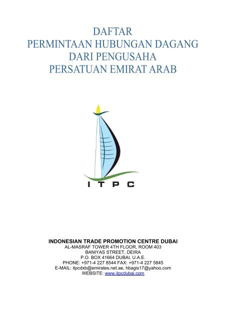 INDONESIAN TRADE PROMOTION CENTRE DUBAI - ITPC Dubai