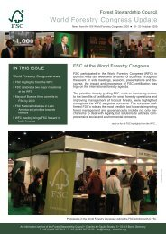 WFC Newsletter.pdf - Forest Stewardship Council