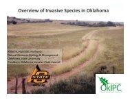 Overview of Invasive Species in Oklahoma