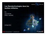 jean dumas - rddc - les nanotechnologies dans les textiles militaires