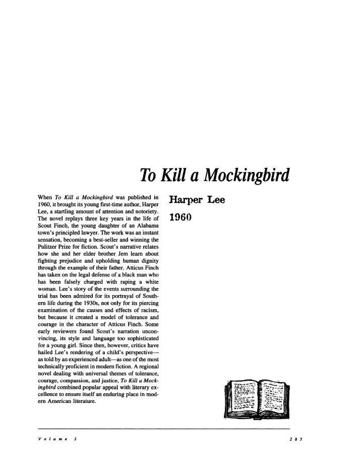 fighting prejudice to kill a mockingbird